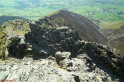 24 Looking down Hall's Fell Ridge.jpg