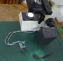 LED lighting for microscope