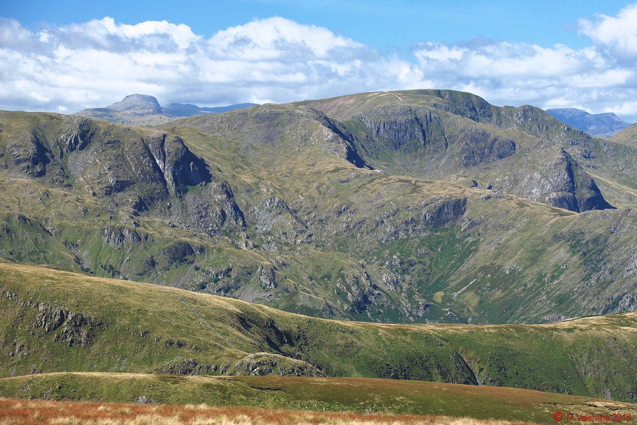 18 Great Gable, behind Dove Crag, Hart Crag, Fairfield etc., from High Street.jpg