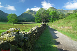 Photo 01 - Approaching Hartsop Hall.