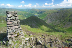 Photo 04 - A view from Red Screes summit.