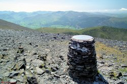07 - View from Skiddaw summit.