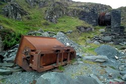 06 - Abandoned Honister Quarries relics.