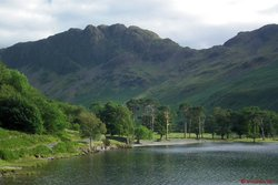 07 - Haystacks from Buttermere lakeshore.