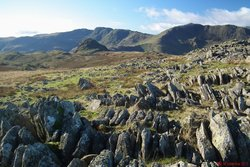 Crinkle Crags & Bowfell.